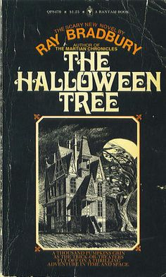 Creepy Vintage Horror Paperback Covers. The Halloween Tree is one of my favorite stories!