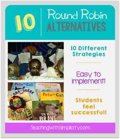 A list of 10 easy to implement alternatives to round robin reading.