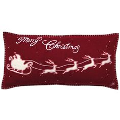 Designer Christmas cushions, stockings and accessories. Christmas Themes, Christmas Crafts, Christmas Eve, Stag Cushion, Red Blanket, Merry Little Christmas, Magical Christmas, Christmas Cushions, Country House Interior