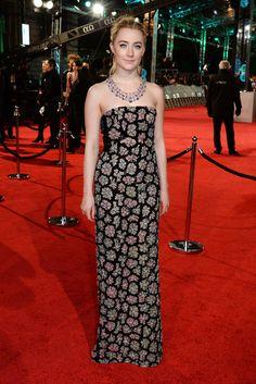 Saoirse Ronan aux BAFTAs 2016
