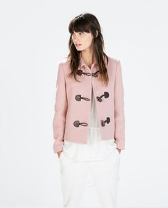 Image 2 of BLAZER WITH TOGGLES from Zara