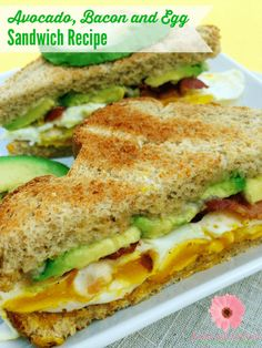 Start your day with a power breakfast. Check out this delicious avocado breakfast sandwich recipe