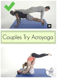 This video of couples attempting acroyoga made me laugh though and is almost enough to make me want to try it myself.