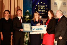 UCD featured in the Irish Times for winning the European Heath Award at the European Health Forum 2012