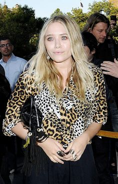 MK | LEOPARD + FRINGE -- Click to get the look...