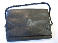 Authentic Vintage Il Bisonte Black Leather Wallet by CLASSYBAG