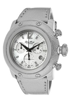 Glam Rock Women's Miami Chronograph Diamond Accented Mother-of-Pearl Dial Watch Rock Watch, Beautiful Watches, Glam Rock, Jewelry Stores, Chronograph, Pearls, Miami, Diamond, Women's Watches