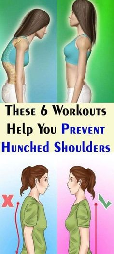 Although having a hunched shoulders and bad posture is a bad appearance for your body, it can also lead to some health issues. To prevent hunched shoulders and improve your posture, we are giving you the best 6 exercises and stretches. After Workout Stretches, Posture Exercises, Better Posture, Bad Posture, Healthy Tips, How To Stay Healthy, Keto Regime, Cardiac Diet, Improve Posture