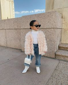 Fashion Nova Kids Cute Little Girls Outfits, Winter Outfits For Girls, Kids Outfits Girls, Boy Outfits, Stylish Baby Girls, Cute Kids Fashion, Tween Fashion, Baby Girl Fashion, Mix Baby Girl