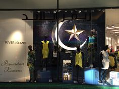Ramadan window at River Island Dubai Mall