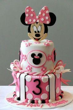 Minnie Mouse Cake Ideas (71 photos)   More Cake IdeasMore Cake Ideas