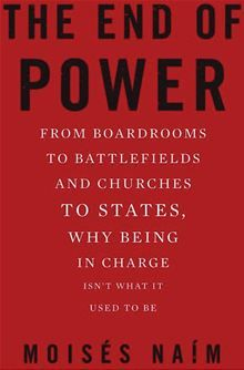 The End Of Power by Moisés Naim -- Planning to read it as #2 of my 2015 challenge of reading a book every other week -- Yes, like Mark Zuckerberg in his Facebook book club A Year Of Books http://facebook.com/ayearofbooks #wow #books