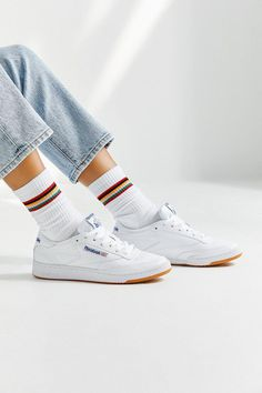 42 Best white sneakers and fashion images | Fashion, Casual