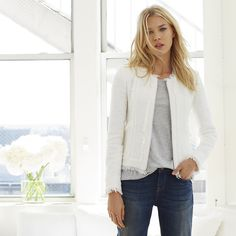 The white company and Linton Tweed Fabric