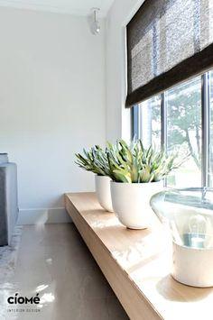 Private residence: minimalistische Woonkamer door CioMé