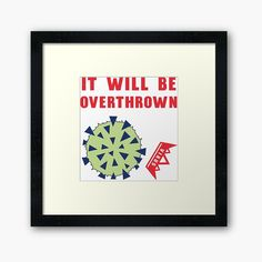 'Coronavirus losing its power' Framed Print by hitpointer Protective Packaging, Centerpiece Decorations, Off Colour, Custom Boxes, Box Frames, Framed Art Prints, Print Design, My Arts, Printed