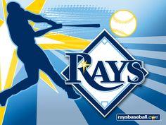 I love baseball and the Tampa Bay Rays. Baseball Wallpaper, Mlb Wallpaper, Mlb Team Logos, Mlb Teams, Sports Teams, Bay Sports, Sports Baseball, Tampa Bay Rays Baseball, Tampa Bay Area