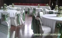 Sage Green and Ivory Lace double sashes