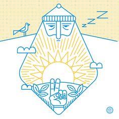 SUNday SUN No. 031 by Tad Carpenter