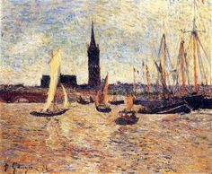 Bordeaux Harbour - Paul Gauguin