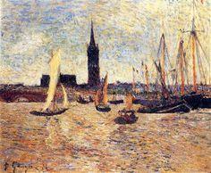 Bordeaux Harbour - Paul Gauguin