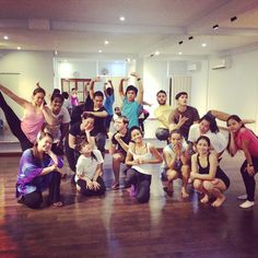 August 30, 2014: Daloy DC Aduld beginners Contemporary Class