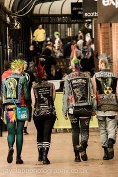 The punk fashion