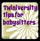 Tips for babysitting twins!