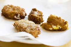 Proof that you really can deep-fry anything! Chocolate-flavored peeps coated in crunchy crumbled graham cracker and shredded coconut combine for a melody of yummy textures. Get the recipe at Serious Eats. More from Redbookmag.com:  10 Weird Things You Never Knew Came in Peeps Form 26 Too-Cute Egg, Chick, and Bunny Desserts 13 Comfort Food Meals You Can Make with Cauliflower   - CountryLiving.com