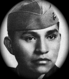 U.S. Marine and Pima Native Ira Hayes, immortalized in song by Johnny Cash.  A real American hero. Ira helped to raise the flag on Mount Suribachi. ~  http://youtu.be/NdNV9JX-Xi8