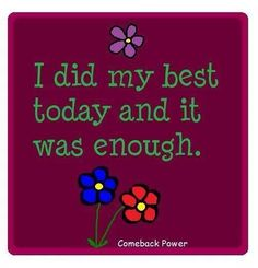 Life with Fibromyalgia/ Chronic Pain. Your best is always enough. <3