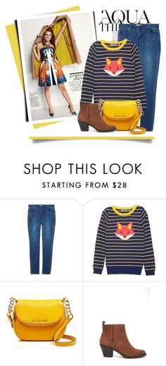 """""""Yellow Included"""" by acommonspace ❤ liked on Polyvore featuring Anja, MICHAEL Michael Kors, Forever 21, yellow and fox"""