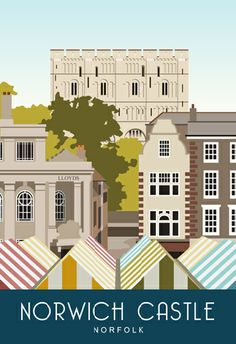 Norwich Castle and Market. From £12 available from www.whiteonesugar.co.uk