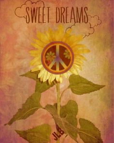 Advice From A Sunflower 🌻 Hippie Peace, Hippie Love, Hippie Art, Peace Art, Peace Of Mind, Peace And Love, Peace Fingers, Good Night Messages, Give Peace A Chance