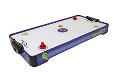 Sport Squad Electric Powered Air Hockey Table - Air Hockey Table - Ideas of Air Hockey Table Air Hockey, Laminated Mdf, Electric Power, Poker Table, Squad, Sport, Tables, Ideas, Mesas