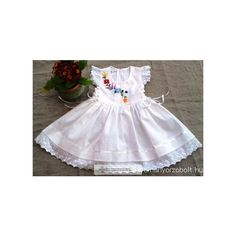 a239016116 Hungarian embroidered little girl dress - Hagyományőrző Bolt. Böbe Varga