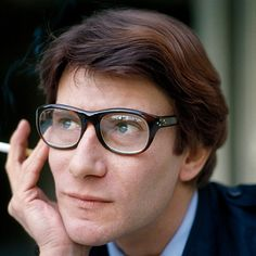 #MensStyle The Timeless Style of Yves Saint Laurent Himself