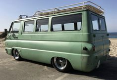 Turf Green Custom: 273/727 1965 Dodge A100