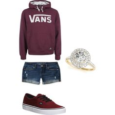 A fashion look from March 2015 featuring Vans hoodies, Aéropostale shorts and Vans sneakers. Browse and shop related looks.