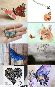 Butterfly Beauties by Tamarah on Etsy--Pinned with TreasuryPin.com