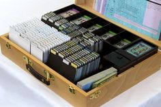 Dominion Case Kickstarter: Sleeveless Cards Box fully loaded (except Guilds and promos).