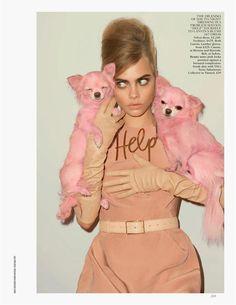 British Vogue - Pink Lady