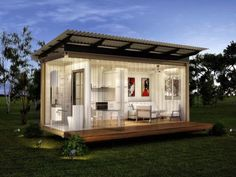 A Shipping Container Home With Solar Power: The Jagpod