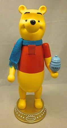 "Walt Disney Winnie the Pooh Decorative Christmas Nutcracker 15"" Disney"
