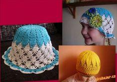Letní klobouk čepička