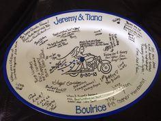 Finished product signature platter