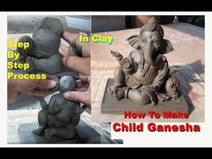 Child Ganesha Idol Making Process in Clay, smile face Ganesha Ganpati Decoration Design, Thali Decoration Ideas, Clay Ganesha, Ganesha Art, Ganesh Chaturthi Decoration, Ganapati Decoration, Ganesh Idol, Rose Crafts, Bff Drawings