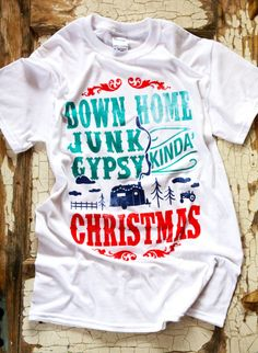 only $10 .. our exclusive JG HOLIDAY TEE - Junk GYpSy co.... xoxo!!!!