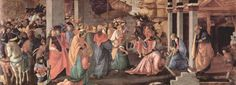 Adoration of the Magi by @artbotticelli #earlyrenaissance