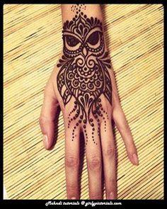 Stylish-Owl-Mehndi-Design.jpg (600×750)